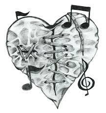 gallery cute drawings of broken hearts drawing art gallery