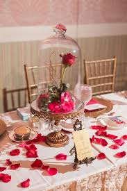 beauty and the beast wedding table decorations beauty and the beast inspired details for a fairy tale wedding