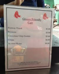 Fenway Map Gluten Free At Fenway Snapshots And Sojourns