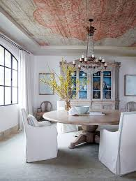 dinning rooms small shabby chic dining room with round dining