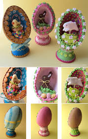 swirly designs by lianne u0026 paul holiday how to easter egg dioramas