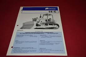 fiat allis chalmers 14 c crawler tractor dealer u0027s brochure dcpa2
