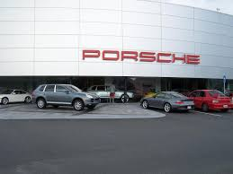 porsche dealership my dirty evo in front of the world u0027s largest porsche dealership