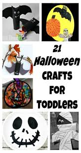 21 halloween crafts for toddlers craft halloween fun and