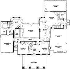 georgia house plans georgian house plan 5 bedrooms 4 bath 5537 sq ft plan 6 1883
