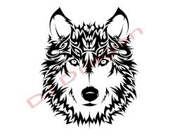 wind style wolf tribal by djdragon on deviantart