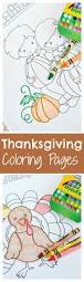 thanksgiving coloring pages crazy little projects