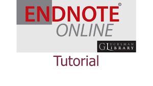 online tutorial library endnote online tutorial glucksman library university of limerick