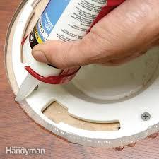 Can You Install Laminate Flooring In A Bathroom Floor Repair The Family Handyman
