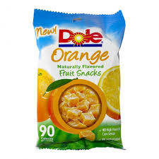 dole fruit snacks dole orange fruit snacks individual bag