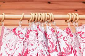 Drapery Clips Without Rings Types Of Curtain Hooks Hunker