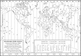 World Map With Time Zones World Map Of Time Zones Chase U0027s Calendar Of Events 2014 57th