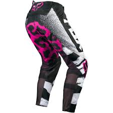 rockstar energy motocross gear all new fox racing 2015 girls youth 180 pants black pink wide