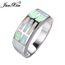 Opal Wedding Ring by Online Get Cheap Opal Wedding Bands Aliexpress Com Alibaba Group