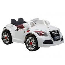 audi tt electric ride on electric white audi tt coupe sports cabriolet car parental
