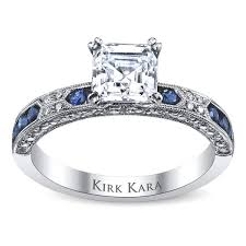 engagement sets kirk kara ss6852sa r engagement ring