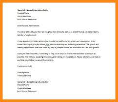 6 formal resignation letter doc manager resume
