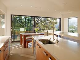 mill valley contemporary kitchen dining indoor outdoor modern