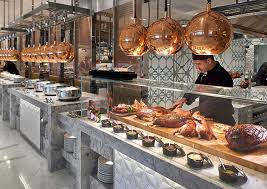 Great Plaza Buffet by Epicurean Perth Open Kitchen Dining Restaurant Crown Perth