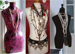 necklace dress holder images Diy jewelry storage ideas creative ways to display and organize jpg