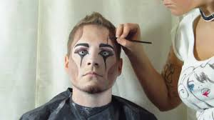 edward and the crow inspired make up tutorial by thereissomethingabout emilie 2016