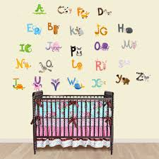 popular alphabet wall decal buy cheap alphabet wall decal lots 2017 baby gift removable cheap children bedroom decor alphabet wall stickers for kids adhesive nursery wall