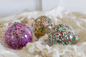 melted crayon diy ornaments the heathered nest