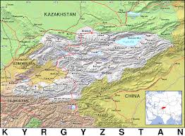 Kyrgyzstan Map Kg Kyrgyzstan Public Domain Maps By Pat The Free Open Source