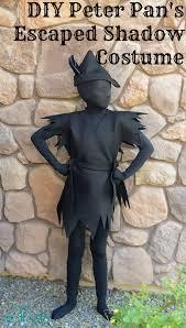 Halloween Costume Diy Peter Pan U0027s Escaped Shadow Costume Regular Peter