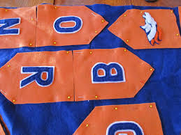 Bronco Flag Denver Bronco Banner For Your Super Bowl Party