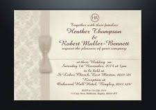 damask wedding invitations personalised damask wedding day evening invitations with envelopes