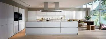 simple high gloss lacquer finish kitchen cabinets modern rooms