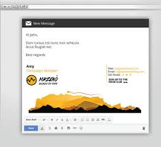 50 best professional html u0026 outlook email signature designs
