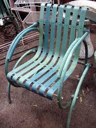 Outdoor Single Glider Chair Where To Find Vintage Garden Furniture
