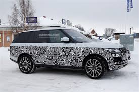 range rover 2017 2017 range rover facelift spied with small changes autoevolution