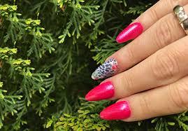 golden mist nail design