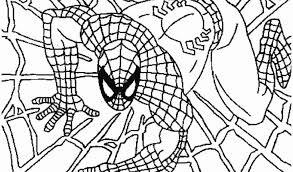 spiderman coloring pages kids free coloring pages kids