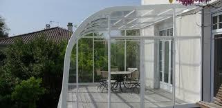 terrasse transparente terrasse couverte transparente