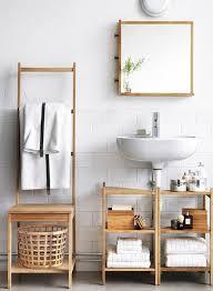 Bathroom Cabinet With Laundry Bin by Ikea Bathroom Furniture Light Wood Pine Wood Laundry Basket