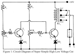 simple low high voltage cut circuit u2013 electronics project