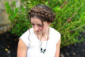 milkmaid braid cute summer hairstyles cute girls hairstyles