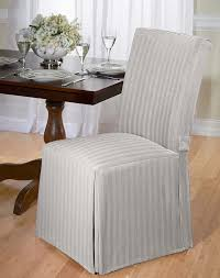 Dining Room Chair Covers Pattern by Amazon Com Luxurious Dining Chair Cover Herringbone Beige Grey