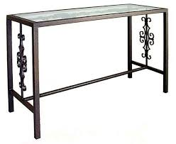 tall black console table console and sofa tables