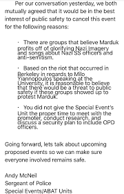 Best Ceo Resume by Oakland Metro Operahouse Cancels Marduk Show