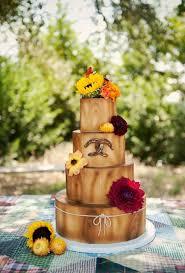 wedding cake harvest fall themed wedding cakes