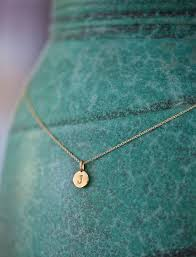 Small Monogram Necklace 25 Best Ideas About Sterling Silver Initial Necklace On Pinterest
