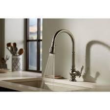 gold kitchen faucets kohler kitchen faucets with sprayer kohler forte pull out kitchen