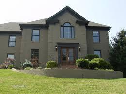 paint brick house
