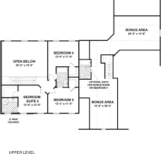 Open Space House Plans Traditional Style House Plan 4 Beds 3 50 Baths 2499 Sq Ft Plan