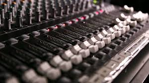 Studio Mixer Desk by Mixing Desk Pull Focus Free Stock Video Footage Download Clips